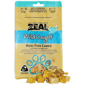 Zeal Treats - Wild Caught Hoki Fish Cubes
