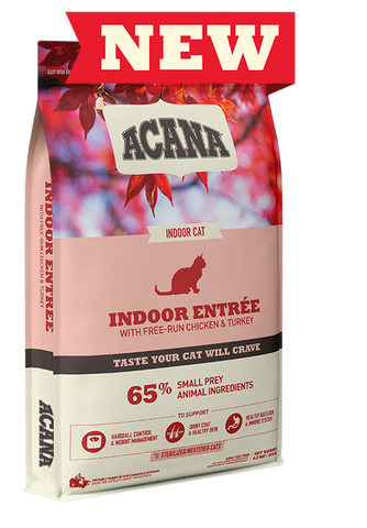 Acana Indoor Entree Dry Cat Food