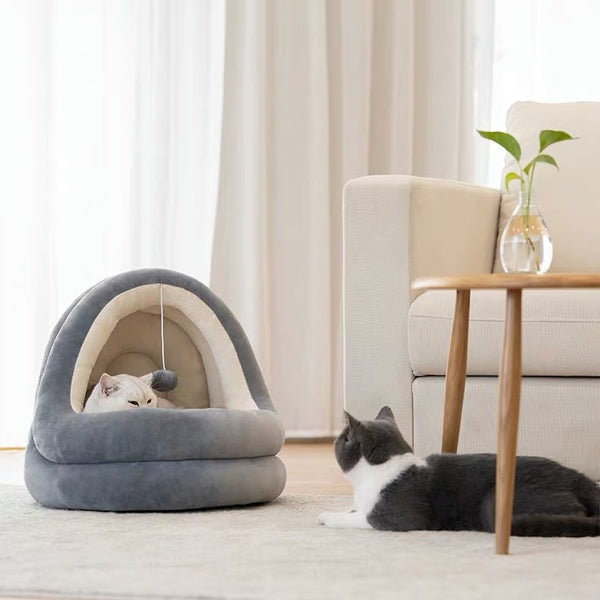 Zeze Mongolian Cat Yurt (Two colors)