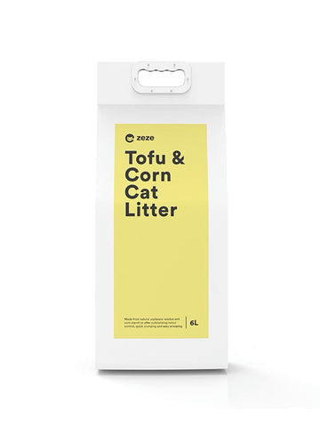Zeze Tofu & Corn Cat Litter 6L