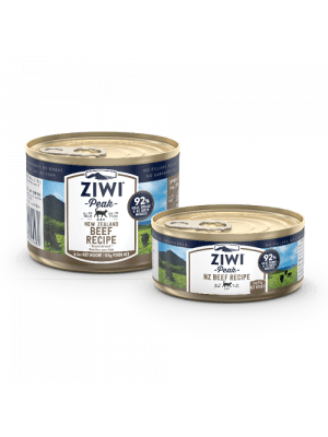 Ziwi Peak Wet Canned Food for Cats 85g/ 185g(4 flavor options) *Buy 12 of same size, get 1 free!