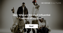Q&A: Who are the most influential rappers of hip-hop?