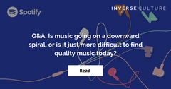 Q&A: Is music going on a downward spiral, or is it just more difficult to find quality music today?
