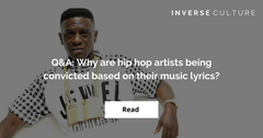 Q&A: Why are hip hop artists being convicted based on their music lyrics?