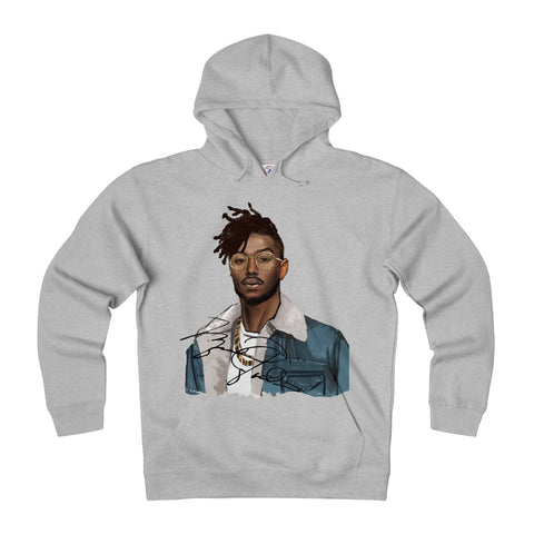 The Erik Killmonger Heavy Hoodie in White