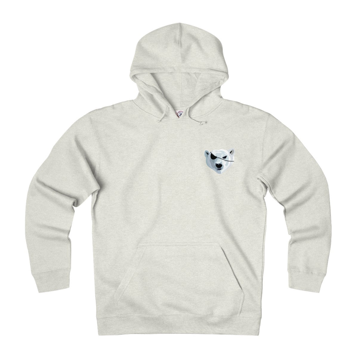 The Pillaging Polar Bear Heavyweight Fleece Hoodie in White – Inverse  Culture 33580e9a0515