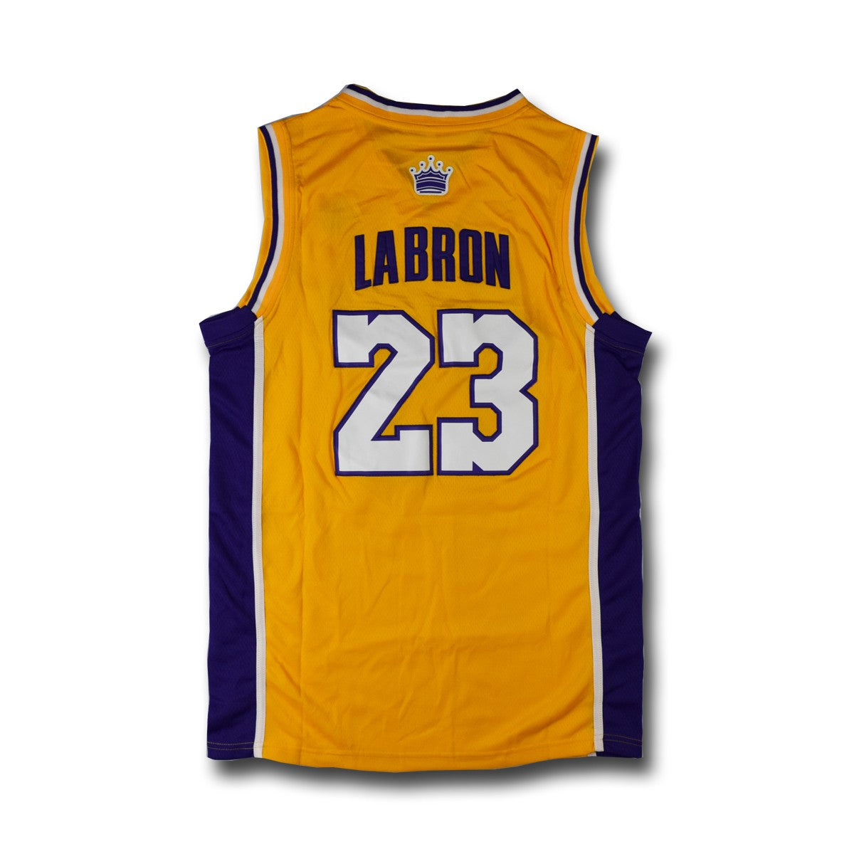 LAbron #23 Yellow Basketball Jersey