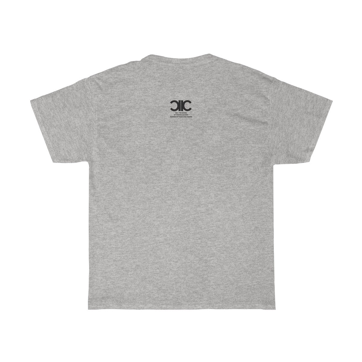 The Goonside Heavy Cotton T-Shirt in White