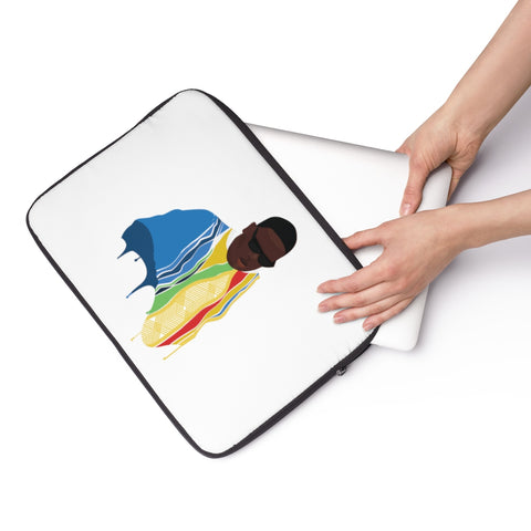 The Biggie Smalls Color Drip Laptop Sleeve