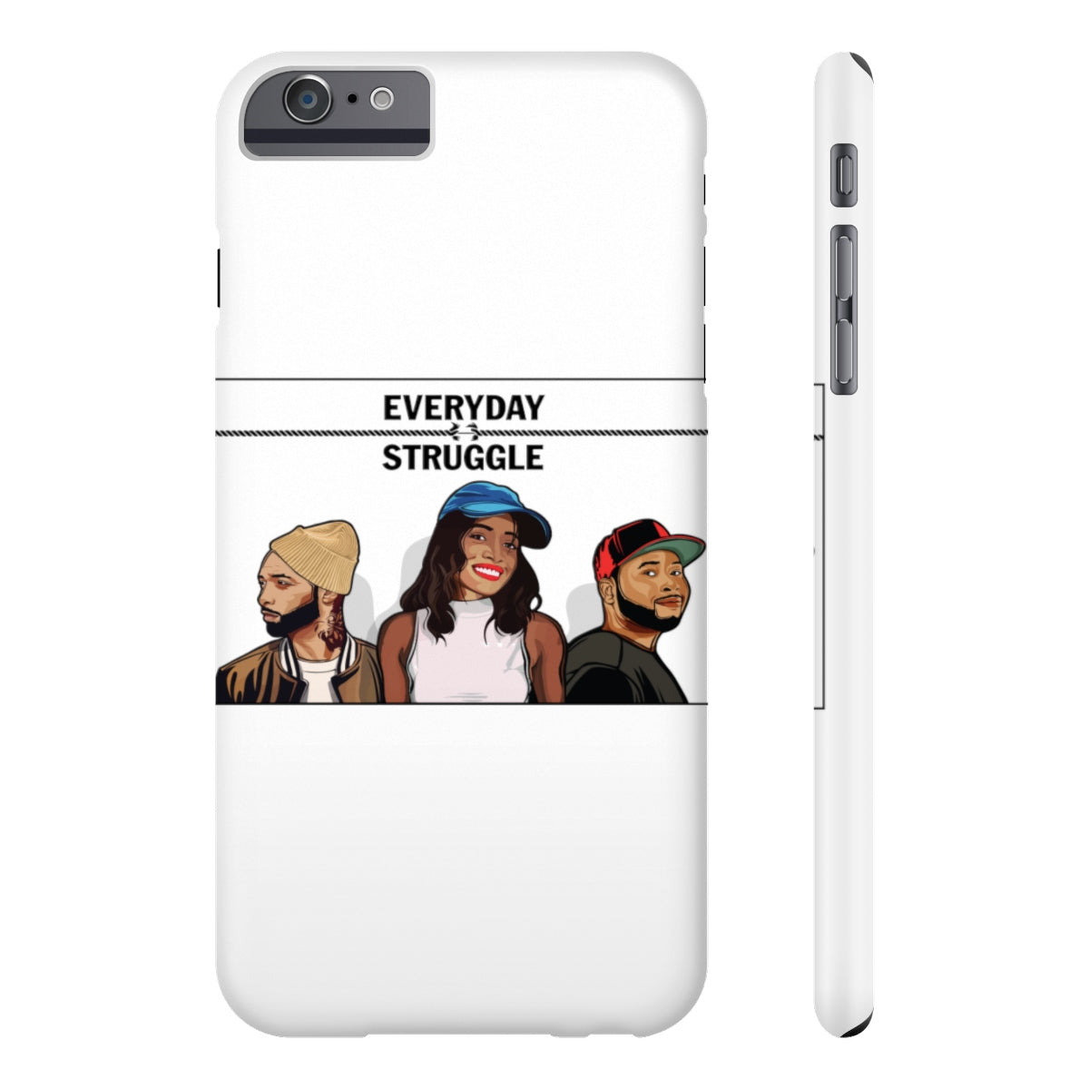 The Everyday Struggle Case Mate Slim Phone Cases