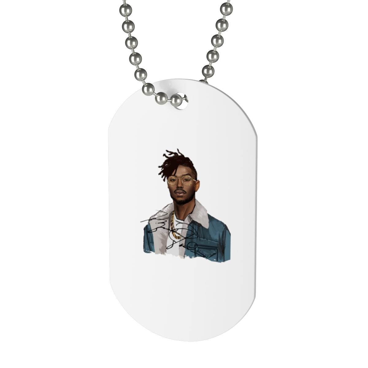 The Erik Killmonger Dog Tag