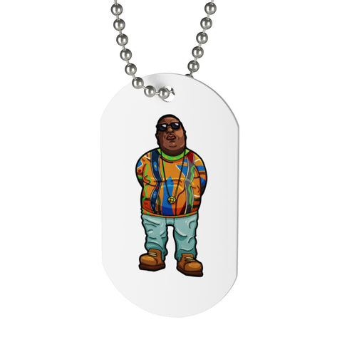 The Notorious B.I.G. Dog Tag