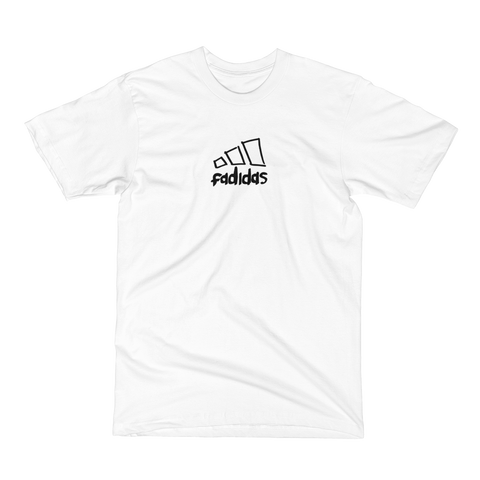 Fadidas T-Shirt in White
