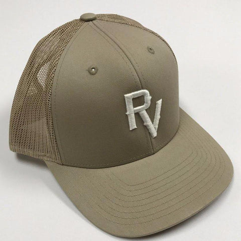 Distressed Taupe Sport Cap