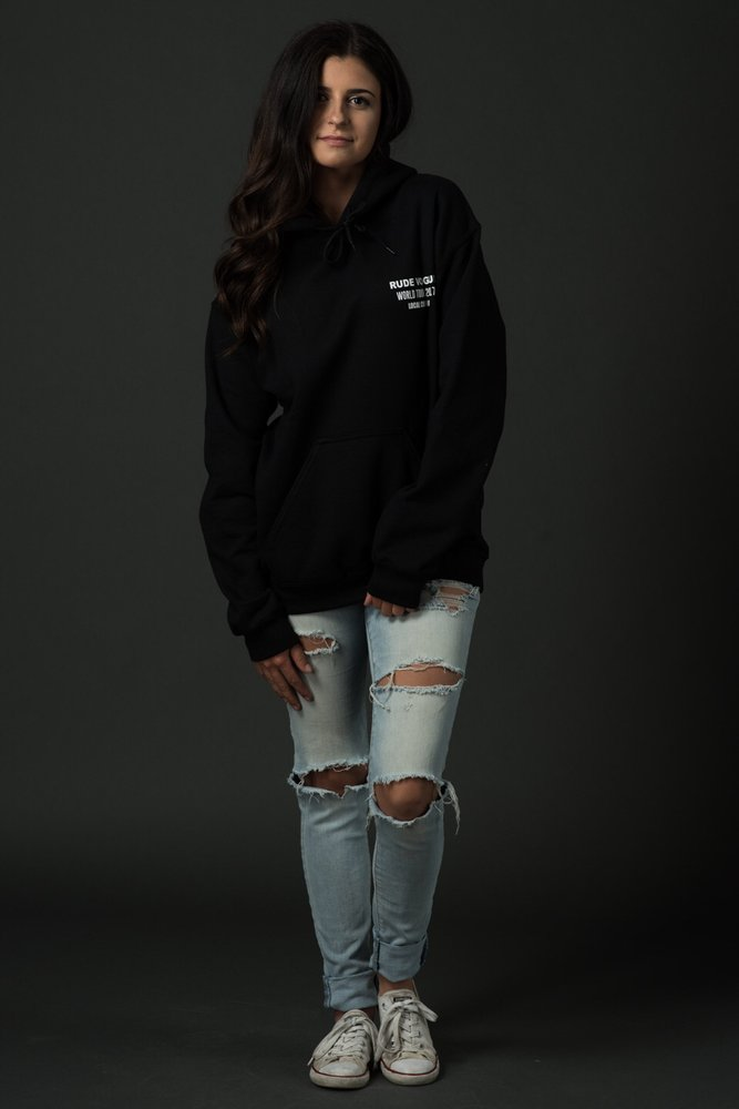 Word Tour Backstage CREW Hoodie Black