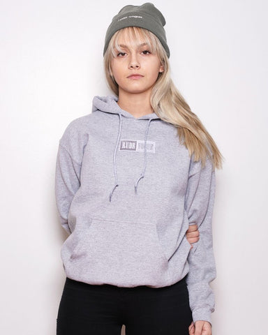 Athletic Grey Warm-Up Hoodie