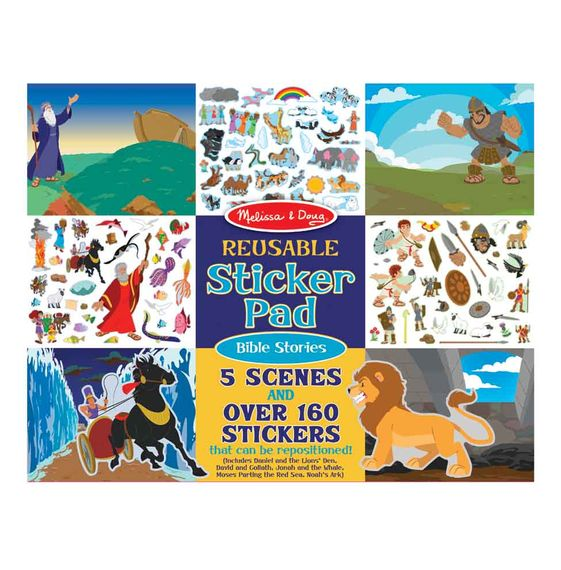 Bible Stories - Reusable Sticker Pad - ABCatholic