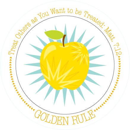 Fruit-Full Plate: Golden Rule Plate