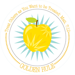 Fruit-Full Plate: Golden Rule Plate - ABCatholic