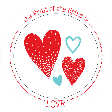 Fruit-Full Plate: Love Plate - ABCatholic