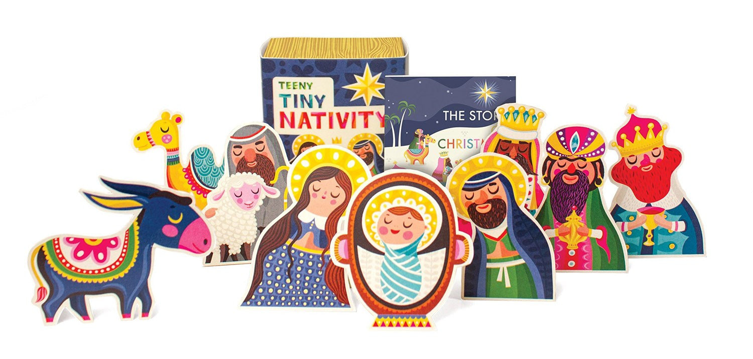 Teeny-Tiny Nativity Playset - ABCatholic