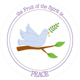 Fruit-Full Plate: Peace Plate