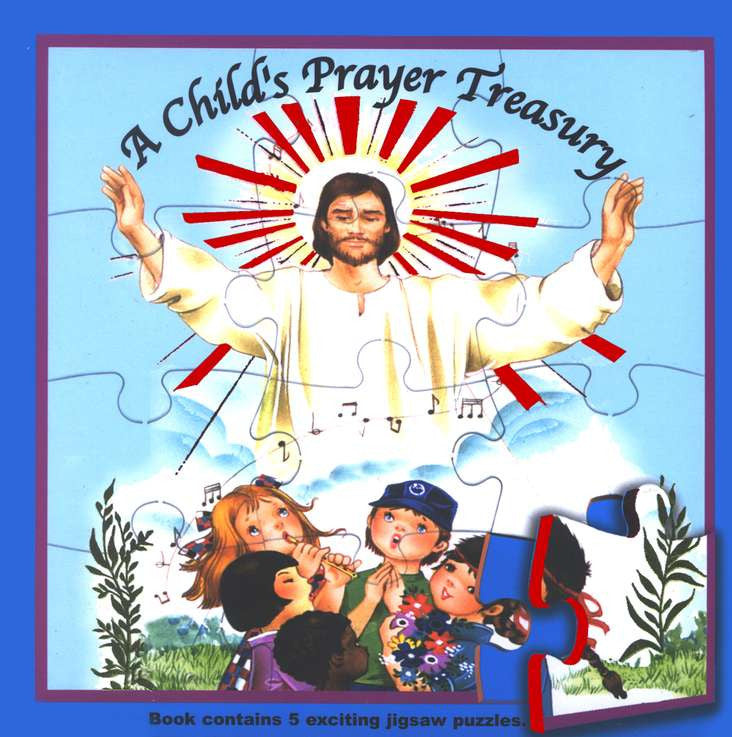 A Child's Prayer Treasury (Puzzle Book)