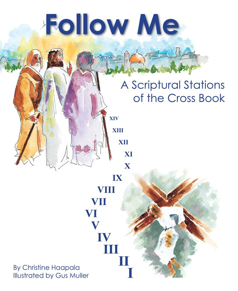 Follow Me A Scriptural Stations of the Cross Book - ABCatholic
