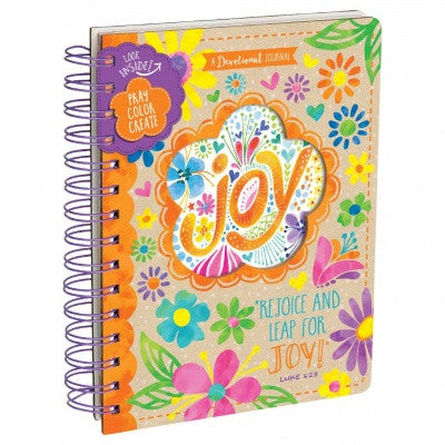 Rejoice and Leap for Joy Devotional Journal - ABCatholic