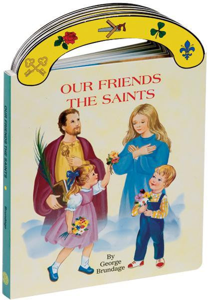 Our Friends the Saints (Carry Me Along Boardbook) - ABCatholic