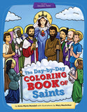 Day-by-Day Coloring Book of Saints - ABCatholic