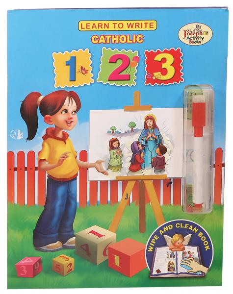 LEARN TO WRITE CATHOLIC 123 - ABCatholic