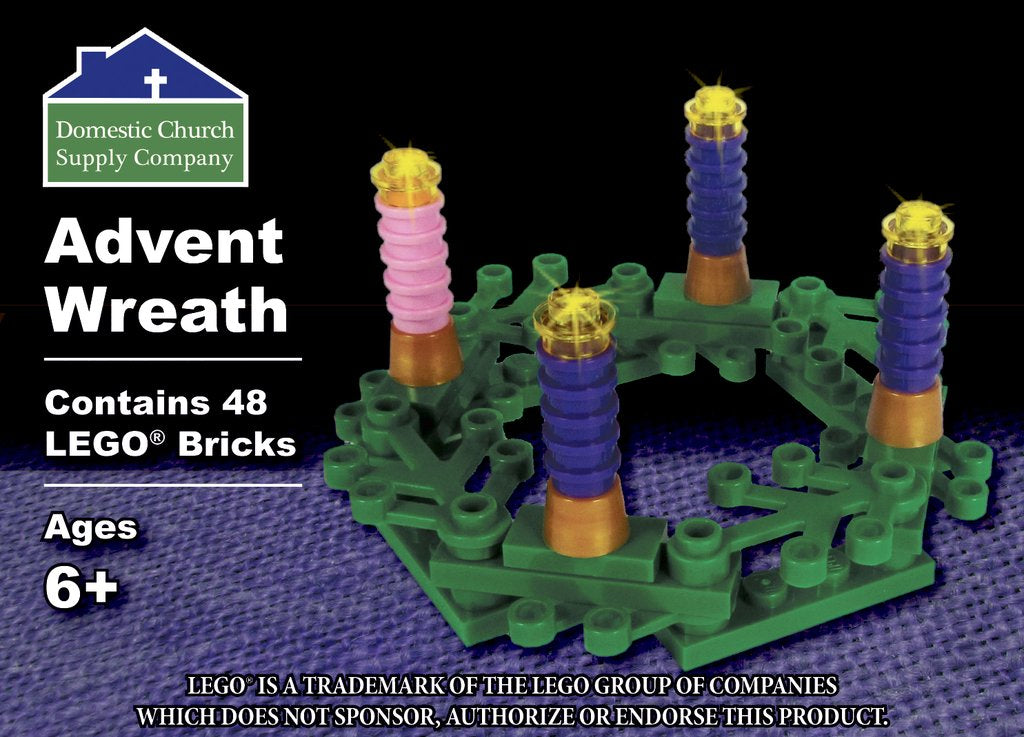 Lego Advent Wreath - ABCatholic