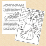 St. Elizabeth of the Trinity Coloring and Reading Book - ABCatholic