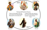 Prayer Pillowcase - Circle of Friends: Blessed Brothers - ABCatholic