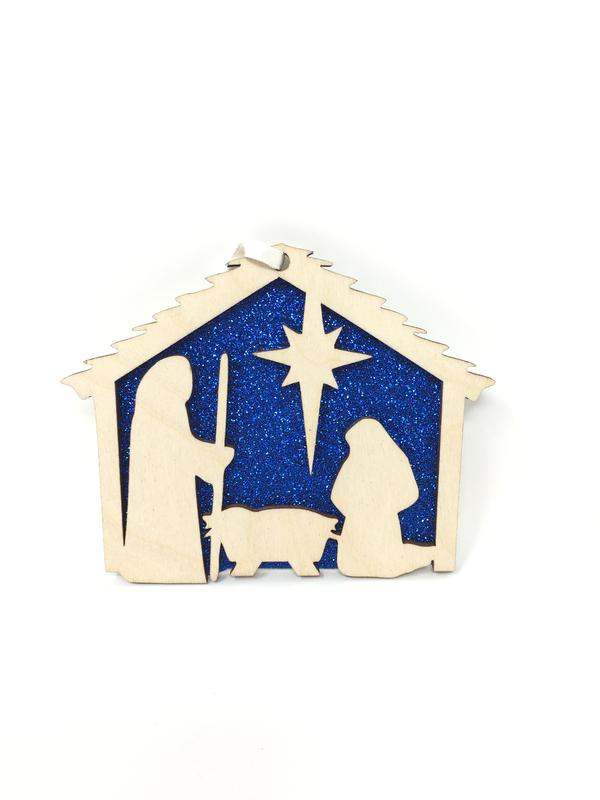 Nativity Christmas Ornament - ABCatholic