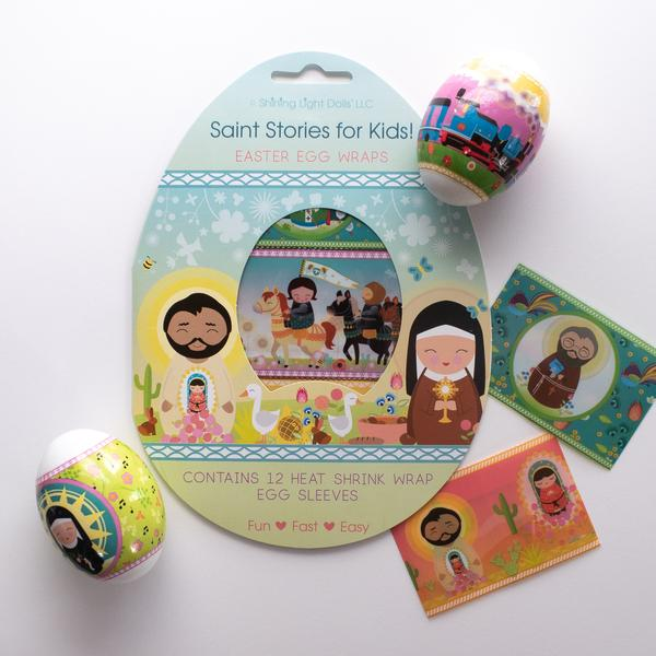 Saints Easter Egg Wraps - ABCatholic