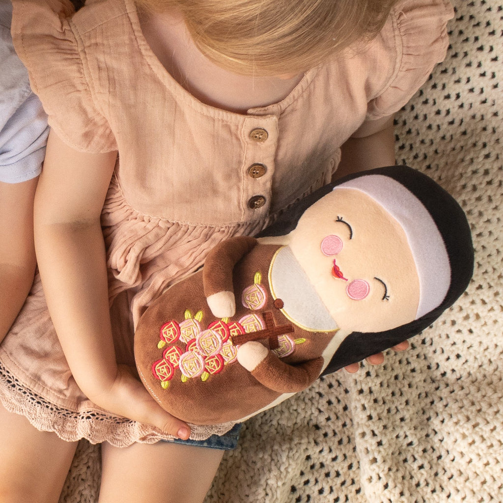 "St. Therese Plush Doll (10"")"
