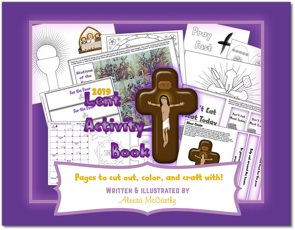 2019 Lent Activity Book