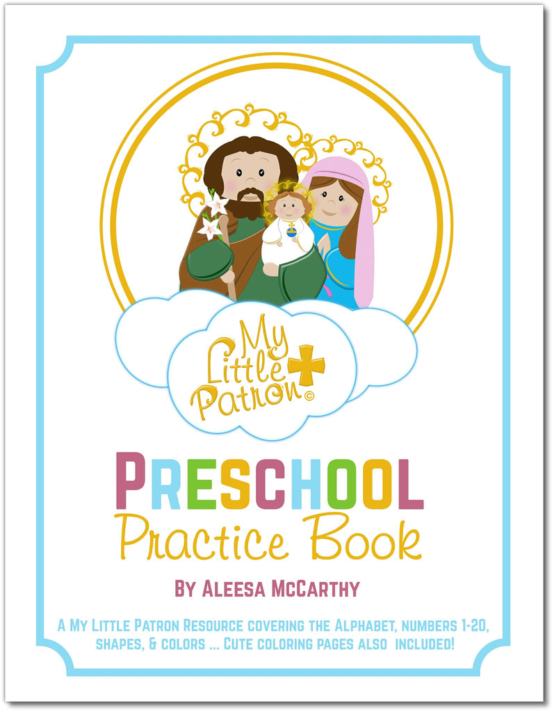 My Little Patron Preschool Practice Book