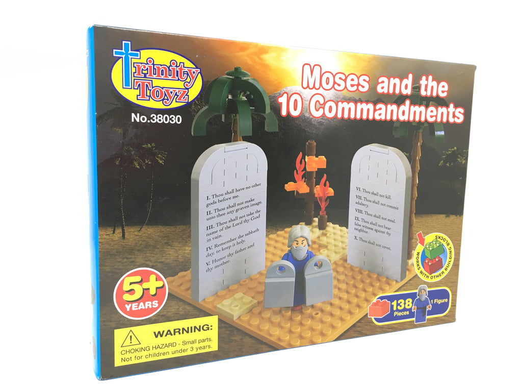 Lego 10 Commandments