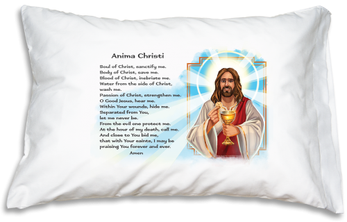 Prayer Pillowcase - Anima Christi