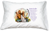 *Prayer Pillowcase - St. Cecilia* - ABCatholic