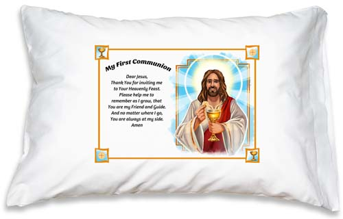 Prayer Pillowcase - First Communion: Dear Jesus