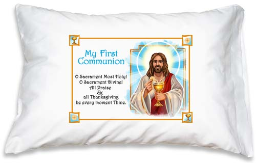 Prayer Pillowcase - First Communion: Sacrament Divine