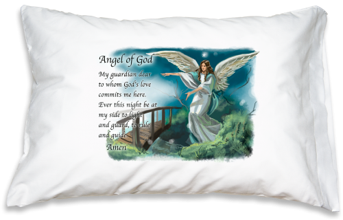 Prayer Pillowcase - Guardian Angel