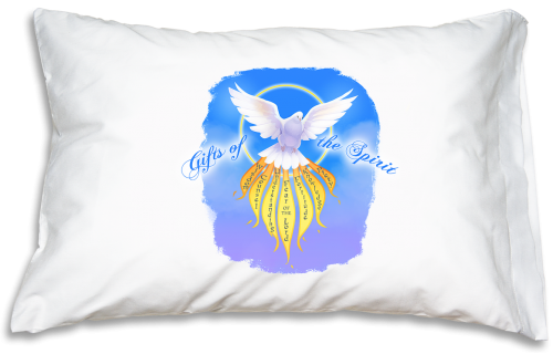 Prayer Pillowcase - Gifts of the Spirit