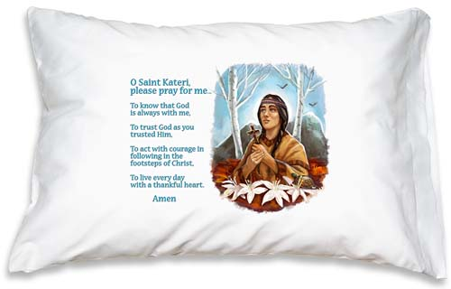 Prayer Pillowcase - St. Kateri