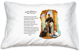 Prayer Pillowcase - St. Martin de Porres - ABCatholic
