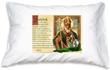 Prayer Pillowcase - St. Patrick - ABCatholic